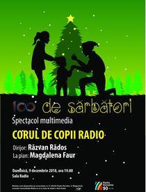 100... de sărbători - concertul Corului de Copii Radio