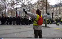 Protestatar in Paris