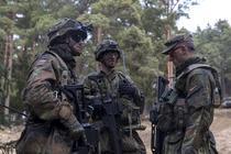 Soldati germani intr-un exercitiu NATO