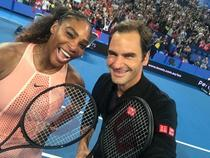 Serena Williams si Roger Federer