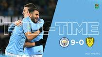 Manchester City vs Burton 9-0