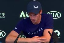 Andy Murray, cu ochii in lacrimi la conferinta de presa