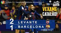 Levante, victorie mare cu Barcelona