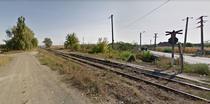 Linia de cale ferata langa Sarmasag