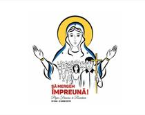 Logo vizita Papa Francisc in Romania