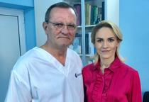 Gabriela Firea si dr Iulian Brezean