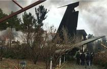 Avion prabusit in Iran