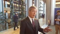 Nigel Farage la Parlamentul European