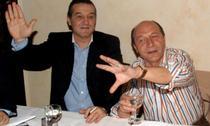 Gigi Becali si Traian Basescu