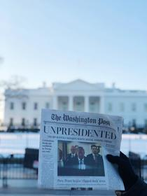 Editie fake a ziarului Washington Post