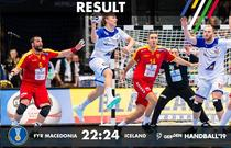 Islanda a invins Macedonia si s-a calificat in Grupele Principale ale CM de handbal masculin