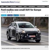 """Ford """"Puma"""""""