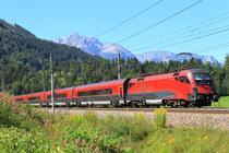 Tren austriac Railjet