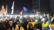 Proteste la Budapesta