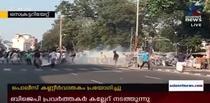 Proteste in Thiruvananthapuram