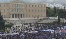 Protest in piata Syntagma