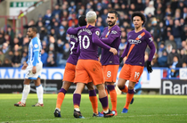 Manchester City, victorie cu Huddersfield