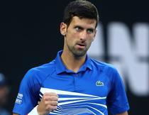 Novak Djokovic, la AO