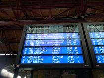 Intarzieri trenuri Bucuresti