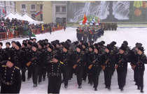 Parada militara din 27 ianuarie la St. Petersburg