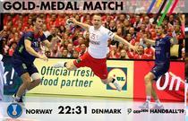 Danemarca a invins Norvegia in finala Campionatului Mondial