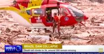 Dezastru Brazilia- Baraj minier distrus