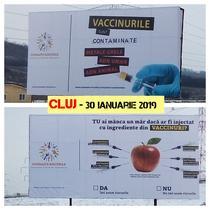 Campanie antivaccinare
