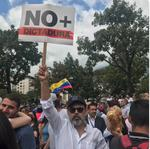 Demonstratii in Venezuela
