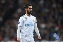 Isco, in tricoul Realului