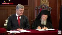 Biserica ortodxa ucraineana, recunoscuta de patriarhul ecumenic Bartolomeu I