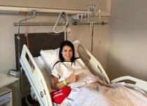 Cristina Neagu, dupa operatie
