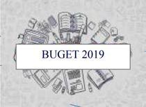 Buget 2019