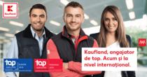 Kaufland angajator de top. Acum si la nivel international