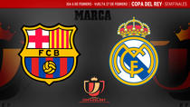 Barca vs Real in Cupa Spaniei