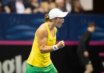 Ashleigh Barty, victorie in FedCup