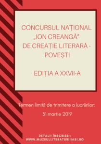Concursul de povesti Ion Creanga