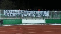 Banner la meciul Sepsi vs Dinamo