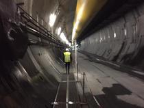 Lucrari la tunelul Torino - Lyon