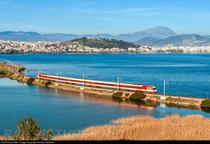 Tren din Grecia