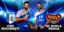 CSM Bucuresti vs Dukla Praga