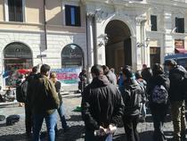 Protest pro Madalina Gavrilescu