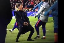 Diego Simeone si gestul reprobabil