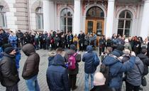 Protest magistrati, Cluj