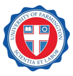 logoul Universitatii false din Farmington
