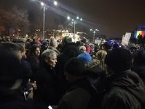 Cioloș la protest