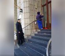 Protest Ministerul Justitiei