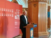 Liviu Dragnea la Parlament
