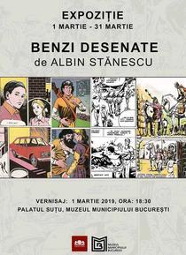 Benzi desenate de Albin Stănescu
