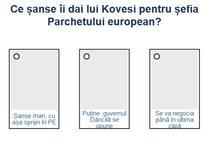Sondaj Kovesi - Parchetul european