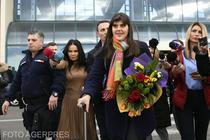 Codruta Kovesi la aeroport